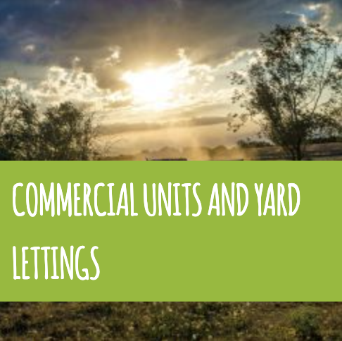 COMMERCIAL UNITS AND YARD LETTINGS
